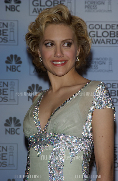 BRITTANY MURPHY at the 61st Annual Golden Globe Awards at the Beverly Hilton Hotel, Beverly Hills, CA..January 25, 2004