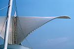 The Milwaukee Cavatrava Art Museum looking over Lake Michigan.