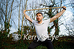 Paul Kennelly teaching 'Friday Fit Club' live online for Scoil Eoin NS students at home on Friday