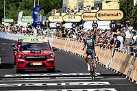 Nils Politt (DEU/BORA - hansgrohe) wins stage 12 from Saint-Paul-Trois-Châteaux to Nîmes (159km)<br /> <br /> 108th Tour de France 2021 (2.UWT)<br /> <br /> ©kramon