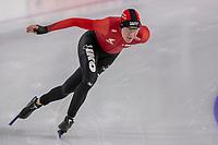 28th December 2020; Thialf Ice Stadium, Heerenveen, Netherlands; World Championship Speed Skating; 1000m ladies, Letitia de Jong during the WKKT