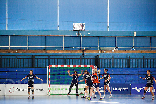 06 APR 2012 - LONDON, GBR - Great Britain women's team members train at the National Sports Centre in Crystal Palace, Great Britain  (PHOTO (C) 2012 NIGEL FARROW)