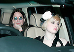 Elton John Wedding Party..Ozzy Osbourne and daughter Kelly.copyright pic by Gavin Rodgers/Pixel 07917221968.PLEASE NOTE THE NEW PHONE NUMBER FOR ME, ABOVE.