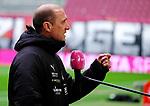 Fussball - 3.Bundesliga - Saison 2020/21<br /> Kaiserslautern -  Fritz-Walter-Stadion 07.04.2021<br /> 1. FC Kaiserslautern (fck)  - FSV Zwickau (zwi)<br /> Trainer Joseph ENOCHS (FSV Zwickau) <br /> <br /> Foto © PIX-Sportfotos *** Foto ist honorarpflichtig! *** Auf Anfrage in hoeherer Qualitaet/Aufloesung. Belegexemplar erbeten. Veroeffentlichung ausschliesslich fuer journalistisch-publizistische Zwecke. For editorial use only. DFL regulations prohibit any use of photographs as image sequences and/or quasi-video.