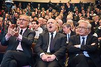 ANDRE VALLINI, BRUNO LE ROUX, FRANCOIS REBSAMEN - MEETING PS - H… HO LA GAUCHE A L'UNIVERSITE PARIS DESCARTES