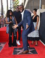 LOS ANGELES, CA. October 01, 2019: Tyler Perry, Crystal Fox, Idris Elba & Kerry Washington at the Hollywood Walk of Fame Star Ceremony honoring Tyler Perry.<br /> Pictures: Paul Smith/Featureflash