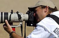 Shooter Rick Dole at work.