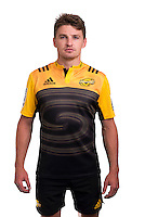Beauden Barrett. 2016 Hurricanes Super Rugby official headshots at Rugby League Park, Wellington, New Zealand on Monday, 1 February 2016. Photo: Dave Lintott / lintottphoto.co.nz