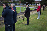 Vale of Leven 3 Ashfield 4, 03/09/2016. Millburn Park, West of Scotland League Central District Second Division. Spectators watching the second-half action at Millburn Park, Alexandria, as Vale of Leven (in blue) hosted Ashfield in a West of Scotland League Central District Second Division Junior fixture. Vale of Leven were one of the founder members of the Scottish League in 1890 and remained part of the SFA and League structure until 1929 when the original club folded, only to be resurrected as a member of the Scottish Junior Football Association after World War II. They lost the match to Ashfield by 4-3, having led 3-1 with 10 minutes remaining. Photo by Colin McPherson.