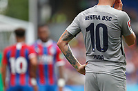 Tattoo artwork on the arm of Ondrej Duda of Hertha Berlin during the pre season friendly match between Crystal Palace and Hertha BSC at Selhurst Park, London, England on 3 August 2019. Photo by Carlton Myrie / PRiME Media Images.