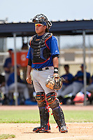 Jeyckol De Leon of the Gulf Coast League Mets during the game against the Gulf Coast League Nationals June 27 2010 at the Washington Nationals complex in Viera, Florida.  Photo By Scott Jontes/Four Seam Images