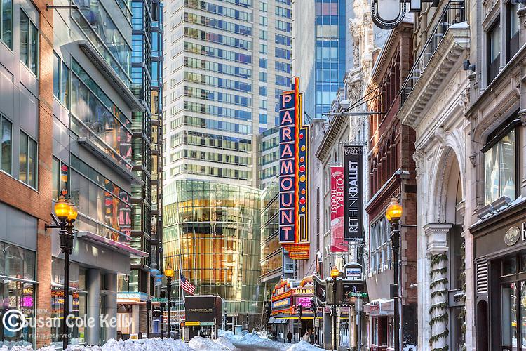 The Theater District, Boston, Massachusetts, USA