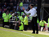 ATTENTION SPORTS PICTURE DESK<br /> Pictured: Roberto Martinez manager for Swansea<br /> Re: Coca Cola Championship, Cardiff City FC v Swansea City FC at Ninian Park, Cardiff, south Wales. Sunday 05 April 2009.<br /> Picture by D Legakis Photography / Athena Picture Agency, Swansea 07815441513