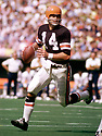 Cincinnati Bengals Ken Anderson (15) during a game from his 1973 season with the Cincinnati Bengals. Ken Anderson played for 16 years, all with the Cincinnati Bengals, was a 4-time Pro Bowler and the 1981 NFL MVP.<br /> (SportPics)