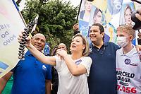 17/10/2020 - JOICE HANSSELMANN FAZ CAMPANHA EM SÃO PAULO