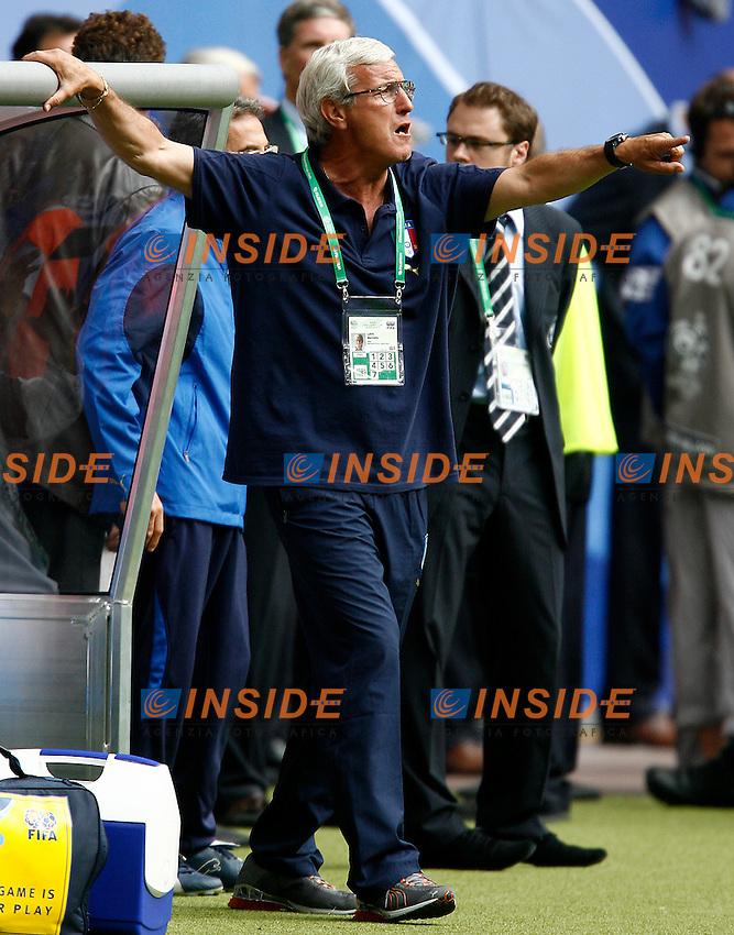 HAmburg 22/6/2006 World Cup 2006.Repubblica Ceca Italia 0-2.Photo Andrea Staccioli Insidefoto.marcello lippi