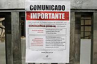13.03.2020 - Comunicado Coronavírus Fórum av Paulista em SP