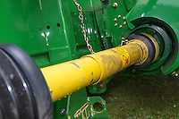 Guarded PTO shaft