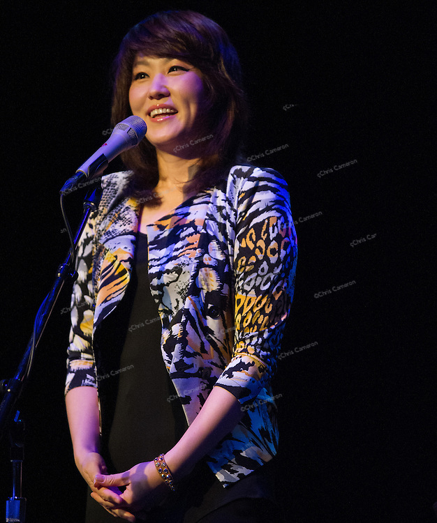 Youn Sun Nah plays IronWorks with Ulf Wakenius June 25,2013 in the TD Vancouver International Jazz Festival