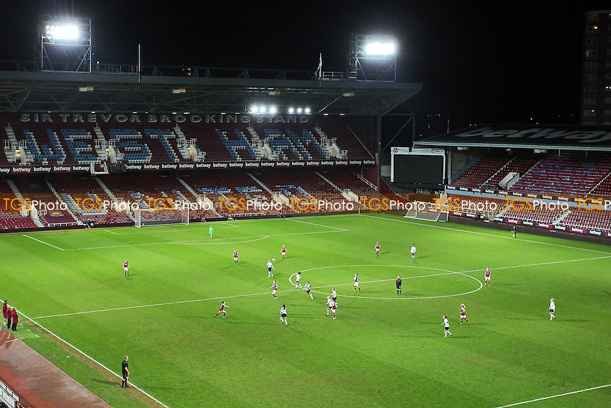 General view of the ground during West Ham United Ladies vs Tottenham Hotspur Ladies, FA Women's Premier League Football at the Boleyn Ground, Upton Park