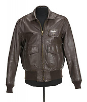 "COPY BY TOM BEDFORD<br /> Pictured: A leather flight jacket once belonged to actor Patrick Swayze that was sold at auction<br /> Re: The iconic black leather jacket worn by Patrick Swayze in the hit film Dirty Dancing has sold for $50,000 (£38,612) at auction.<br /> It was bought by a fan after the tragic actor's wife decided to sell his movie memorabilia. <br /> The jacket had a reserve of just $6,000(£4,630) at the auction in Los Angeles but an internet bid of $25,000(£19,300) was received before the auction started.<br /> The salesroom erupted with applause when the hammer came down at $50,000.<br /> Auctioneer Darren Julien said: ""We always knew it would fetch big bucks.<br /> ""The jacket is the holy grail for Patrick Swayze fans and there are a lot out there.""  <br /> The heart throb actor wore the James Dean-style jacket throughout Dirty Dancing including the  scene where he says: ""Nobody puts Baby in a corner"".<br /> The jacket belonged to Swayze before the movie was made in 1987.<br /> Dirty Dancing was a low-budget movie and most of the clothes Swayze's wore were his own, including the leather jacket.<br /> Mr Julien said: ""Because it was his jacket he got to keep it after the movie and wore it whenever he felt like it."