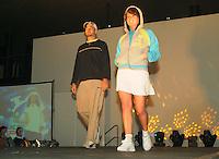 21-2-06, Netherlands, tennis, Rotterdam, ABNAMROWTT,  Fashionshow with Dominic Meffert