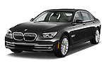 Front three quarter view of a 2013 BMW 7 Series 4dr Rear-Wheel Drive Sedan 750Li