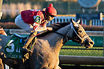 November 28, 2020: Travel Column trained by Brad Cox and ridden by Florent Geroux wins the G2 Golden Rod Stakes at Churchill Downs in Louisville, Kentucky on November 28 2020. Jessica Morgan/Eclipse Sportswire.