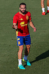 Spanish Dani Carvajal during the first training of the concentration of Spanish football team at Ciudad del Futbol de Las Rozas before the qualifying for the Russia world cup in 2017 August 29, 2016. (ALTERPHOTOS/Rodrigo Jimenez)