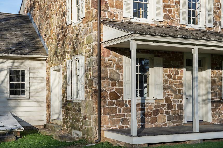 Historic home in the 18th century crossroads village of Sugartown, Pennsylvania