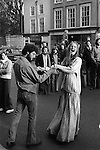 May Day Oxford University students 1976, 1970s UK