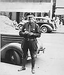 Jingles Donahue, long-time Waterbury Policeman, circa 1939