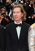 CANNES, FRANCE. July 12, 2021: Wes Anderson at the gala premiere of Wes Anderson's The French Despatch at the 74th Festival de Cannes.<br /> Picture: Paul Smith / Featureflash