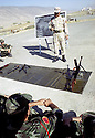 Irak 2002 Au camp des forces spéciales a Salahaddin, entrainement militaire   Iraq 2002 Special forces in Salahaddin,the military training