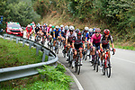 The large breakaway during Stage 19 of La Vuelta d'Espana 2021, running 191.2km from Tapia de Casariego to Monforte de Lemos, Spain. 3rd September 2021.    <br /> Picture: Cxcling   Cyclefile<br /> <br /> All photos usage must carry mandatory copyright credit (© Cyclefile   Cxcling)