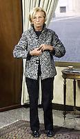 """Roma 15/01/2010 Emma Bonino ad """"Un caffe' con l'onorevole"""".<br /> Emma Bonino, candidate of Democratic Party for the Lazio Region elections that will take place in March.<br /> Photo Samantha Zucchi Insidefoto"""
