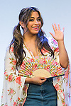 Ally Brooke, a member of the American five-piece girl group Fifth Harmony greets to the cameras during a fan event on July 9, 2016, in Tokyo, Japan. Fifth Harmony is in Japan for the first time to promote their new song Work from Home after finishing their South American tour. (Photo by Rodrigo Reyes Marin/AFLO)