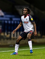 Bolton Wanderers' Peter Kioso looks on <br /> <br /> Photographer Andrew Kearns/CameraSport<br /> <br /> The EFL Sky Bet League Two - Bolton Wanderers v Salford City - Friday 13th November 2020 - University of Bolton Stadium - Bolton<br /> <br /> World Copyright © 2020 CameraSport. All rights reserved. 43 Linden Ave. Countesthorpe. Leicester. England. LE8 5PG - Tel: +44 (0) 116 277 4147 - admin@camerasport.com - www.camerasport.com