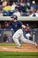 Cedar Rapids Kernels third baseman T.J. White (16) at bat during a game against the West Michigan Whitecaps on June 7, 2015 at Fifth Third Ballpark in Comstock Park, Michigan.  West Michigan defeated Cedar Rapids 6-2.  (Mike Janes/Four Seam Images)