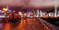 Avenue of the Stars, Tsim Sha Tsui Promenade, Kownloon waterfront, Hong Kong SAR, China, Asia