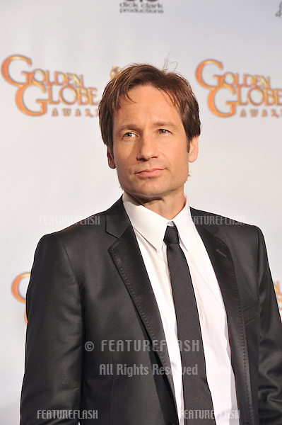 David Duchovny at the 66th Annual Golden Globe Awards at the beverly Hilton Hotel..January 11, 2009  Beverly Hills CA.Picture: Paul Smith / Featureflash