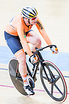 Kirsten Wild of Netherlands competes in the Women's Points Race 25 km Final during the 2017 UCI Track Cycling World Championships on 16 April 2017, in Hong Kong Velodrome, Hong Kong, China. Photo by Chris Wong / Power Sport Images