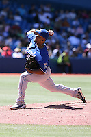 May 24th 2009:  Relief pitcher Ramon Ramirez (56) of the Kansas City Royals during a game at the Rogers Centre in Toronto, Ontario, Canada .  Photo by:  Mike Janes/Four Seam Images