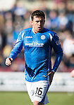 Hearts v St Johnstone…19.03.16  Tynecastle, Edinburgh<br />Danny Swanson<br />Picture by Graeme Hart.<br />Copyright Perthshire Picture Agency<br />Tel: 01738 623350  Mobile: 07990 594431
