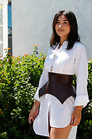 CANNES, FRANCE - JULY 13: Camelia Jordana at the Talents Adami photocall during the 74th annual Cannes Film Festival on July 13, 2021 in Cannes, France. <br /> CAP/GOL<br /> ©GOL/Capital Pictures