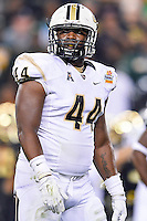 January 01, 2014:<br /> <br /> UCF Knights defensive lineman Miles Pace #44 during Tostitos Fiesta Bowl at University of Phoenix Stadium in Scottsdale, AZ. UCF defeat Baylor 52-42 to claim it's first ever BCS Bowl trophy.