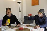 PROGETTO ARCA<br /> Il cohousing di Casa Arca di Roma.<br /> Il momento del pranzo.