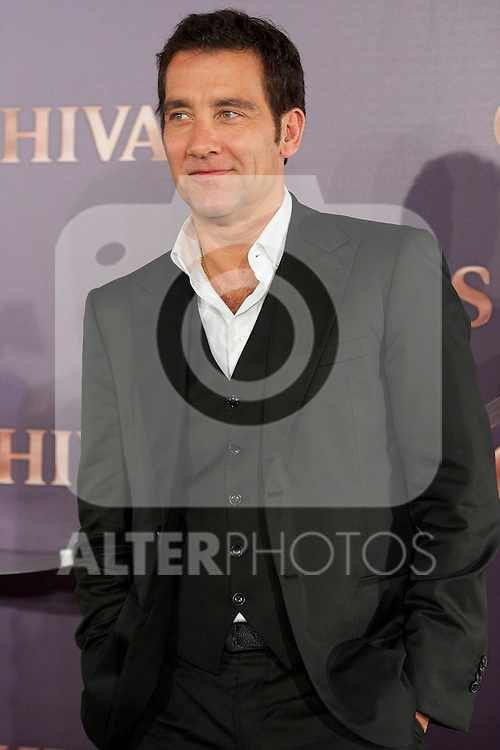 Clive Owen attend the Presentation of the new limited edition Whiskey Chivas 12 designed by the young illustrator Alex Catalan Trochut.Photo: Billy Chappel / ALFAQUI