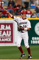 Tim Carver;March 9th, 2010; South Dakata State University vs Arkansas Razorbacks at Baum Stadium in Fayetteville Arkansas. Photo by: William Purnell/Four Seam Images