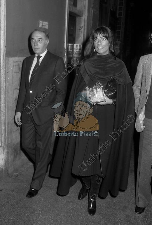 """MARILU'  TOLO<br /> PRESENTAZIONE LIBRO """"DIVERSE GIOVINEZZE"""" DI BIAGIO ARIXI ROMA 1982"""